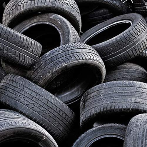 recycleable motor tires