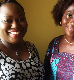 Visit to Mentor, Mrs. Saka CEO TCNL Nig Ltd. Major Recycler in Ogun State June 2015